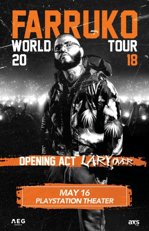 Farruko World Tour 2018